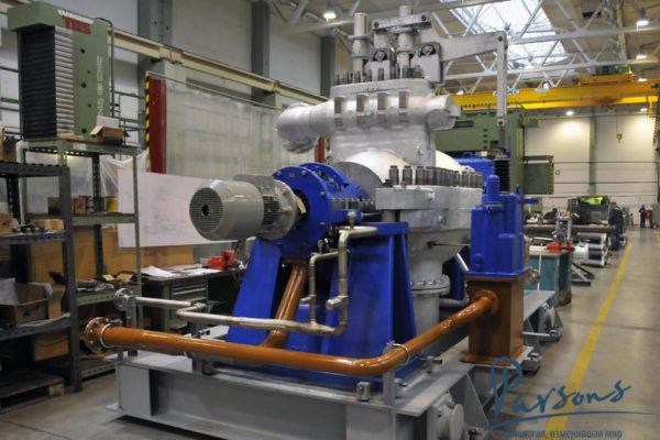 Паровая турбина на сахарном заводе Nile Sugar 6-24-350