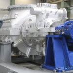 Паровая турбина на заводе