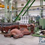 Процесс производства паровой турбины