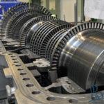 Производство паровой турбины
